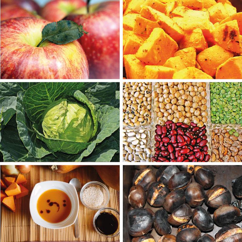 Természetes ételkészítés - őszi kihívás - alapanyaglista