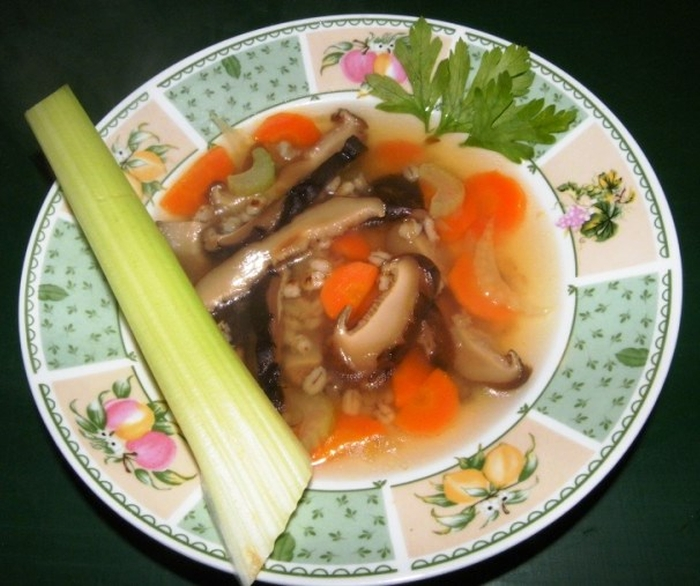 shiitake erőleves