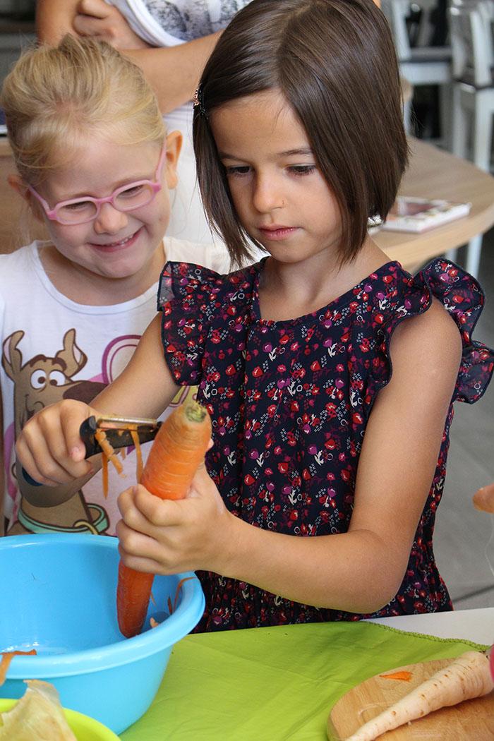 Makrobiotikus főzőkurzus gyerekeknek