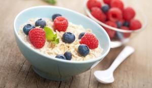 egészséges reggeli zabkása