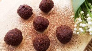 Adzuki bab trüffel – a vese-és inzulinbarát édesség