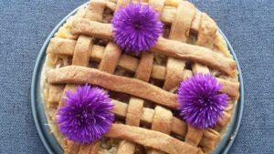 Cukor nélküli omlós almás pite