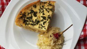 Rakott savanyú káposztás polenta recept