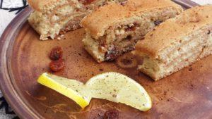 Zsírégető édes tofukrémes süti – kelesztés nélkül, természetesen édesítve